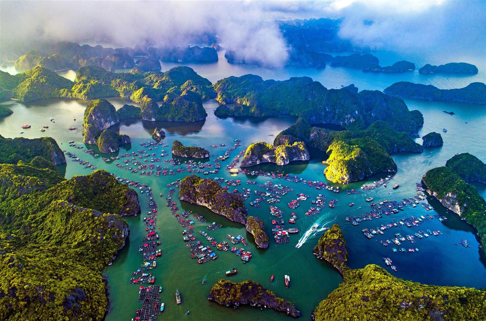 Ảnh vịnh Lan Hạ