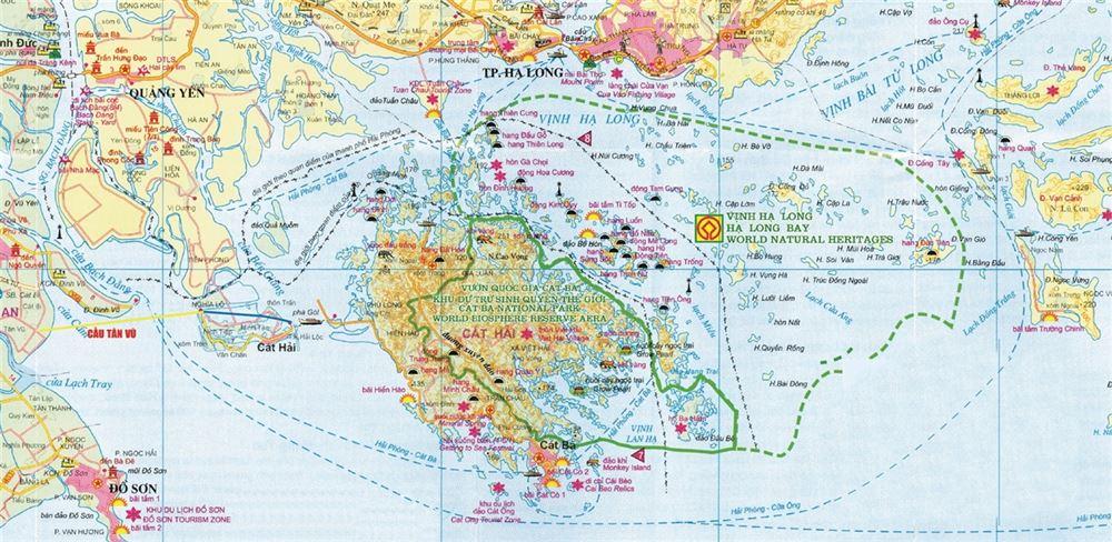 Quần đảo Cát Bà trong khu vực biển đảo Đông Bắc, Hải Phòng - Quảng Ninh