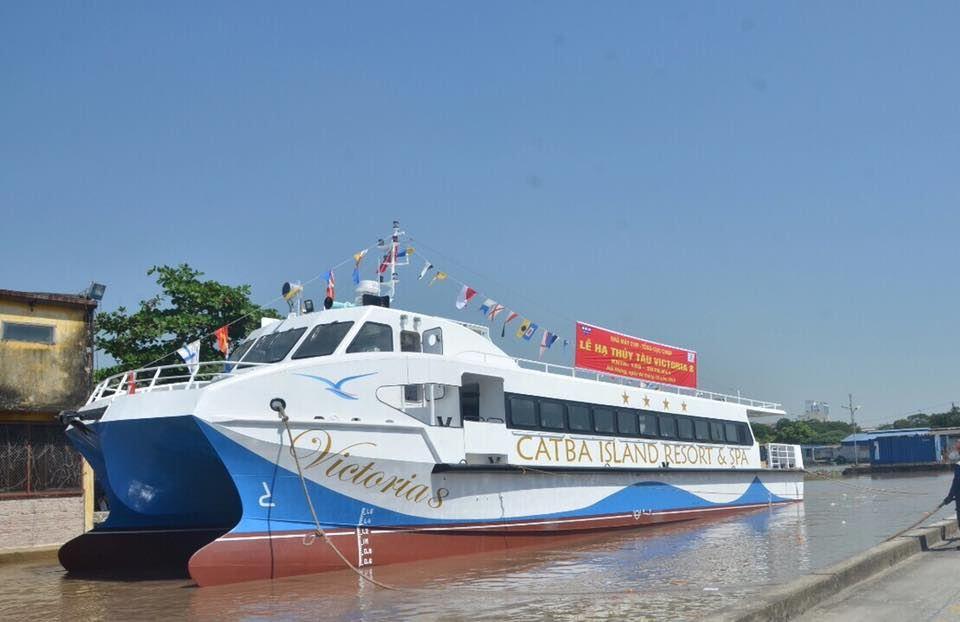 Tàu cao tốc Cát Bà Island